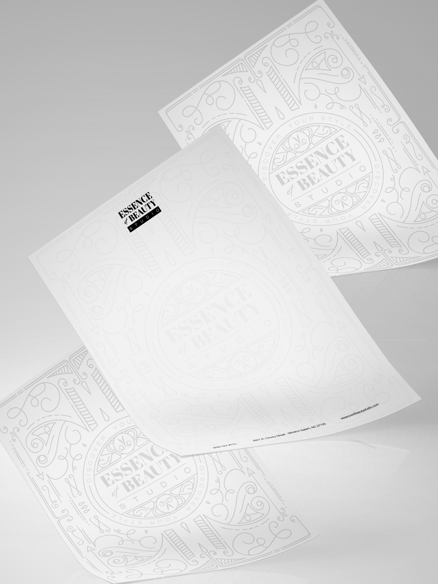 Essence Of Beauty Letterhead